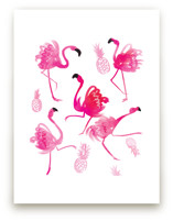 Flamingo Dancers by Tracy Ann