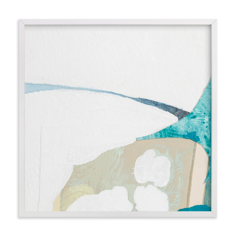 """Papers No. 26.2"" - Art Print by Erin McCluskey Wheeler in beautiful frame options and a variety of sizes."