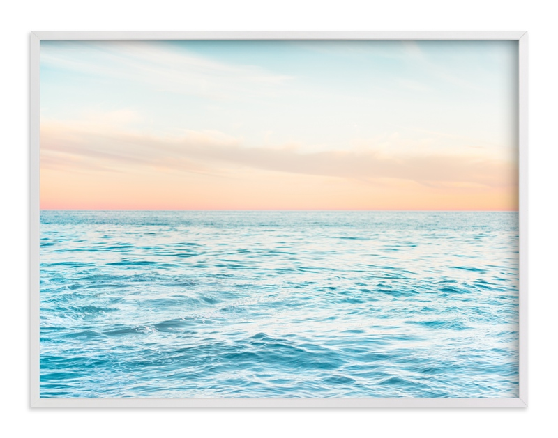"""""""SoCal Sorbet 1"""" - Art Print by Kamala Nahas in beautiful frame options and a variety of sizes."""