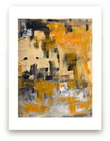 Orange Zest by Ilana Greenberg