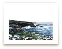 Rocky Sea Cliffs by Emma Ballou