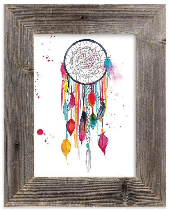 """Dream Catcher #3"" - Art Print by Kelsey McNatt in beautiful frame options and a variety of sizes."