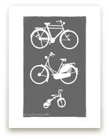 La Famille de Bicyclett... by That Girl Studio