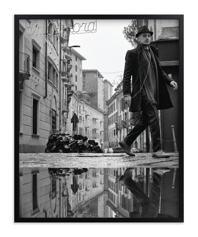 """Milan Reflections"" - Art Print by Mark Kirby in beautiful frame options and a variety of sizes."