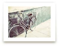 Italian Bicycle by Three Kisses Studio