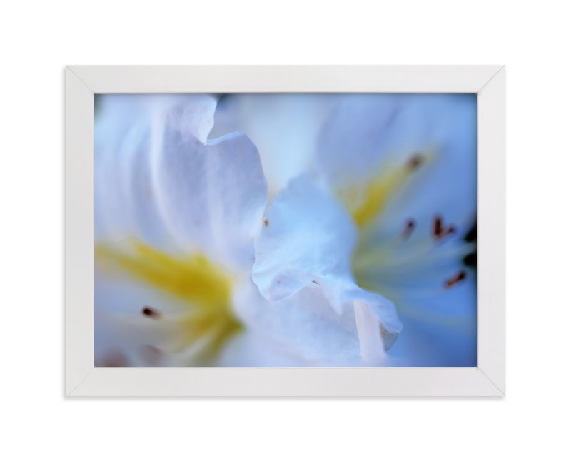 """Pattern in blue"" - Art Print by NSMARK in beautiful frame options and a variety of sizes."