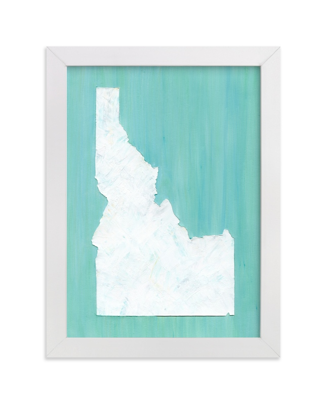 """""""Idaho in Paint"""" - Art Print by Denise Wong in beautiful frame options and a variety of sizes."""