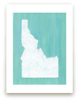 Idaho in Paint by Denise Wong