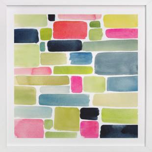 Color Movement I  Art Print