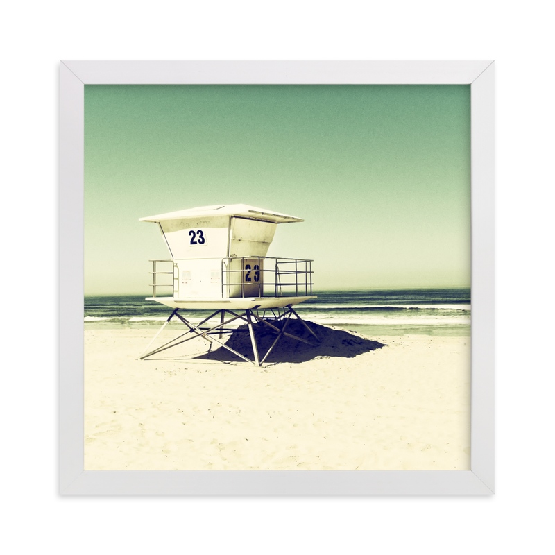 """""""Tower 23"""" - Art Print by Michelee Scott in beautiful frame options and a variety of sizes."""