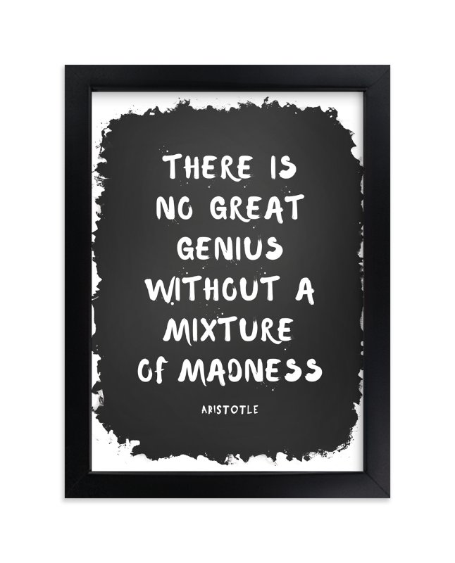 """""""Mixture of Madness"""" - Art Print by Gray Star Design in beautiful frame options and a variety of sizes."""