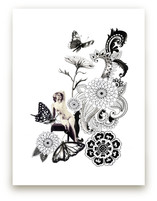 Paisley Butterflies by Lauren Matsumoto