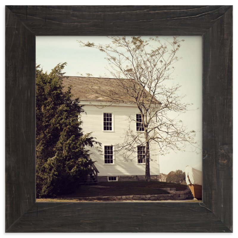 """House by the Water"" - Art Print by Gray Star Design in beautiful frame options and a variety of sizes."