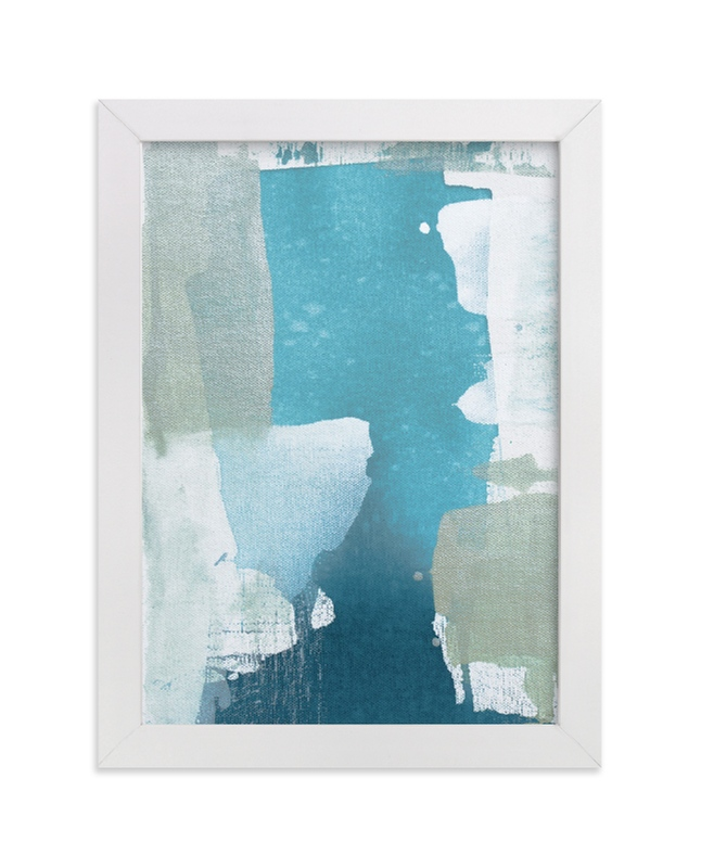 """""""Sea Glass No. 5"""" - Art Print by Julia Contacessi in beautiful frame options and a variety of sizes."""