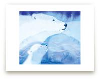 Drifting Snow by Tracy Ann