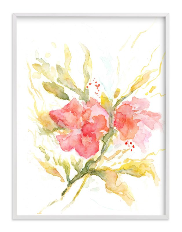 """""""Softly"""" - Art Print by Mya Bessette in beautiful frame options and a variety of sizes."""