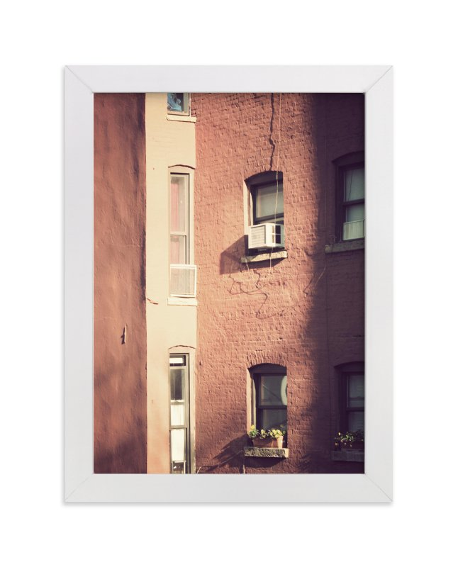 """""""Summer in the City"""" - Art Print by Gray Star Design in beautiful frame options and a variety of sizes."""