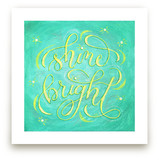Shine Bright Lettering by Elaine Stephenson