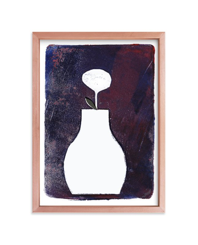 """""""Sometimes It Is Blue"""" - Art Print by Bethania Lima in beautiful frame options and a variety of sizes."""