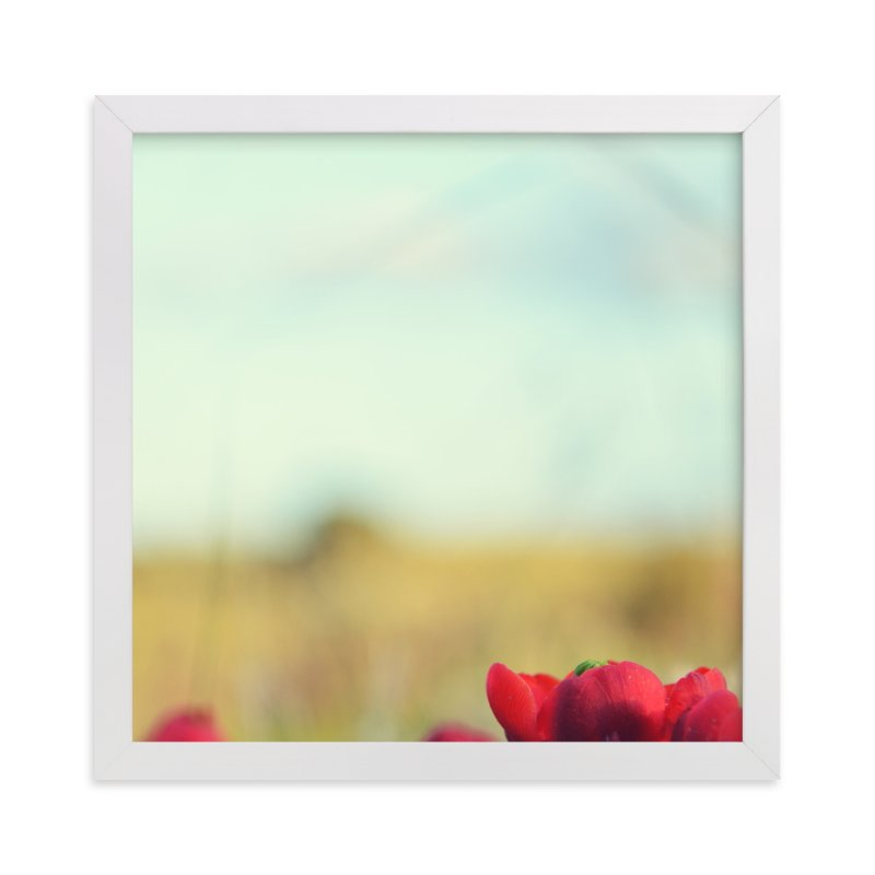 """""""Desert Bloom"""" - Art Print by Gabrial Reising in beautiful frame options and a variety of sizes."""