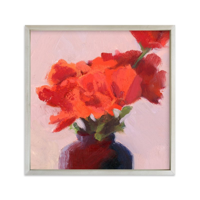 """Shades of Rosy"" - Art Print by sue prue in beautiful frame options and a variety of sizes."