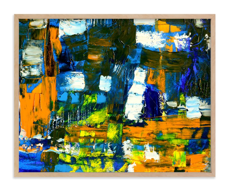 """""""Industry"""" - Art Print by Pooja Pittie in beautiful frame options and a variety of sizes."""