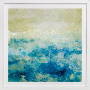 Shining Sea  Art Print