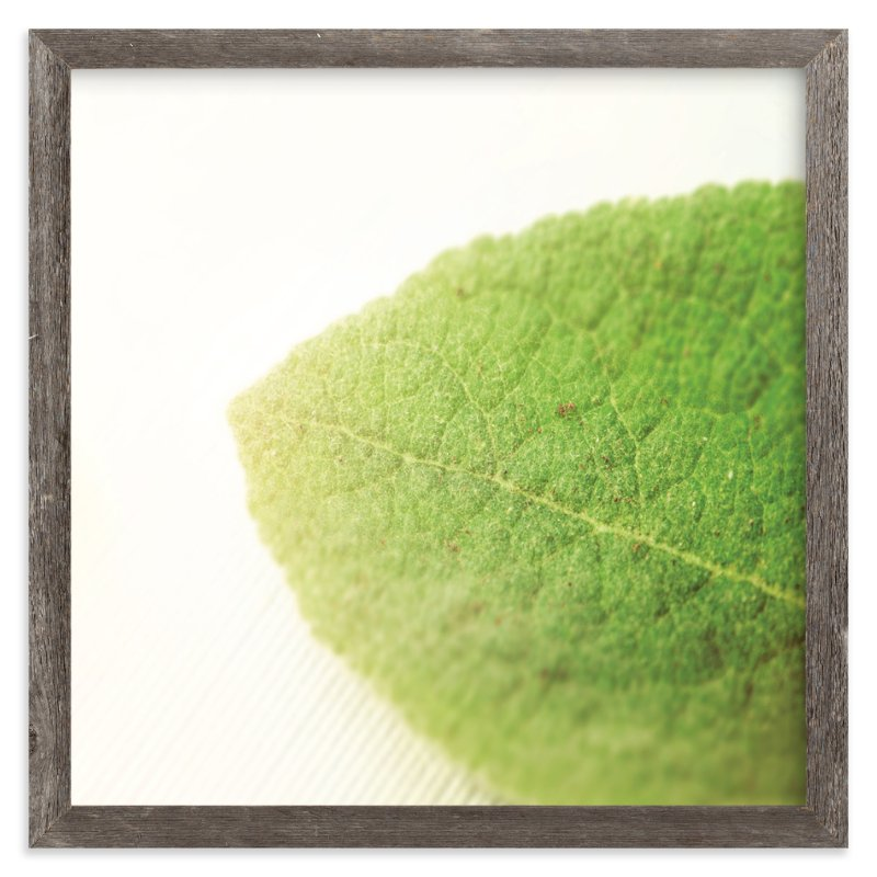 """""""Green"""" - Art Print by Smile Peace Love in beautiful frame options and a variety of sizes."""