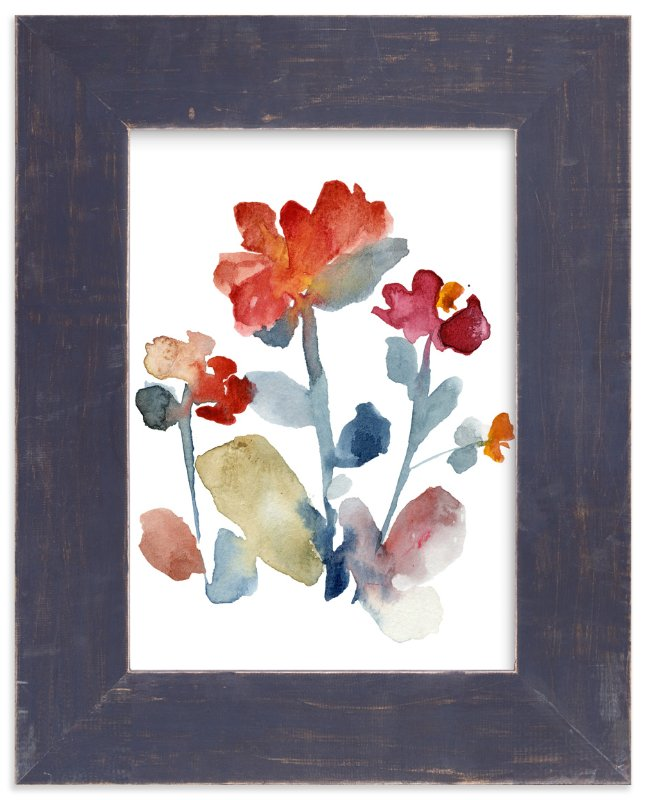 """""""Nouveau Boheme_Japanese garden IV"""" - Art Print by Kiana Mosley in beautiful frame options and a variety of sizes."""