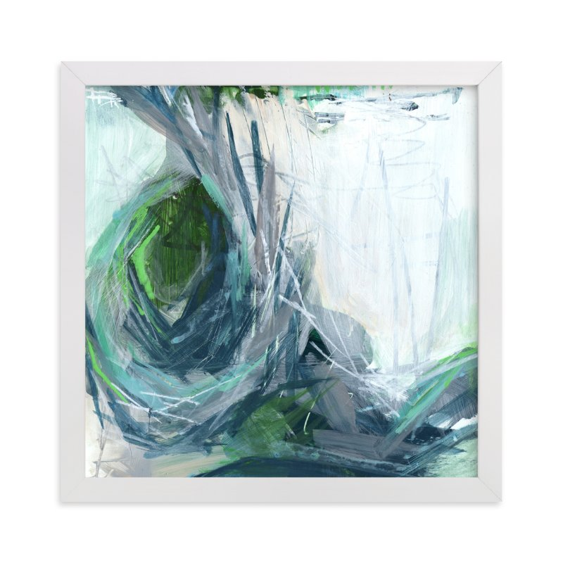 """""""Resounding Crash"""" - Art Print by Jennifer Daily in beautiful frame options and a variety of sizes."""