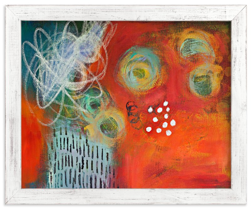 """""""Go Forth"""" - Art Print by Stacy Kron in beautiful frame options and a variety of sizes."""