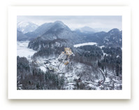 Snowy Village in Bavari... by Melinda Denison