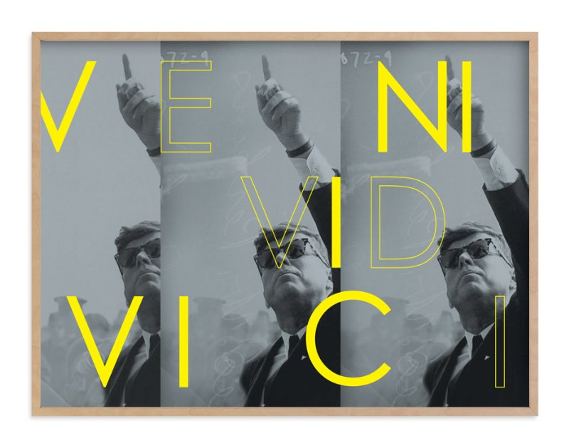"""""""Veni Vidi Vici"""" - Art Print by Kevin Robinson in beautiful frame options and a variety of sizes."""