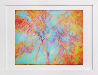 Key West Orange  Art Print