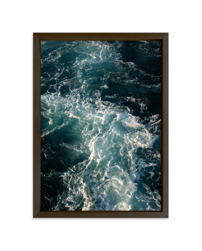 """""""Mermaid Bod"""" - Art Print by CaroleeXpressions in beautiful frame options and a variety of sizes."""
