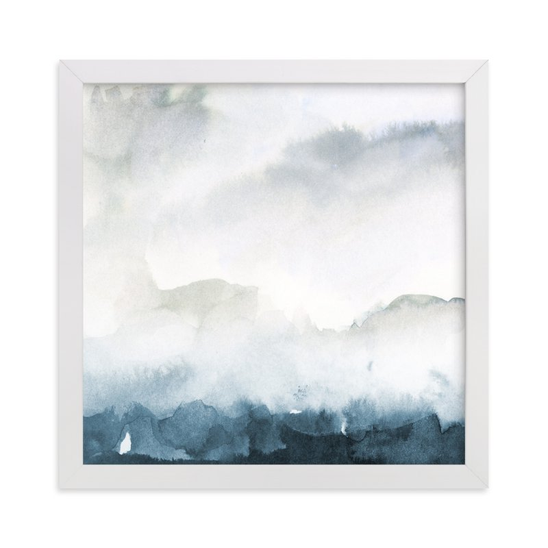 """Wake II-B"" - Art Print by Lindsay Megahed in beautiful frame options and a variety of sizes."