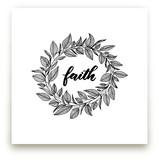 Faith Wreath by LY by Lyna Ti