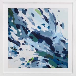 Verdant Ocean Art Print