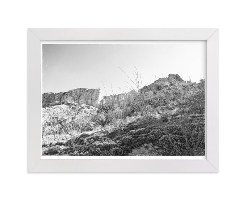 """""""In The Canyon"""" - Art Print by Joseph Weber in beautiful frame options and a variety of sizes."""