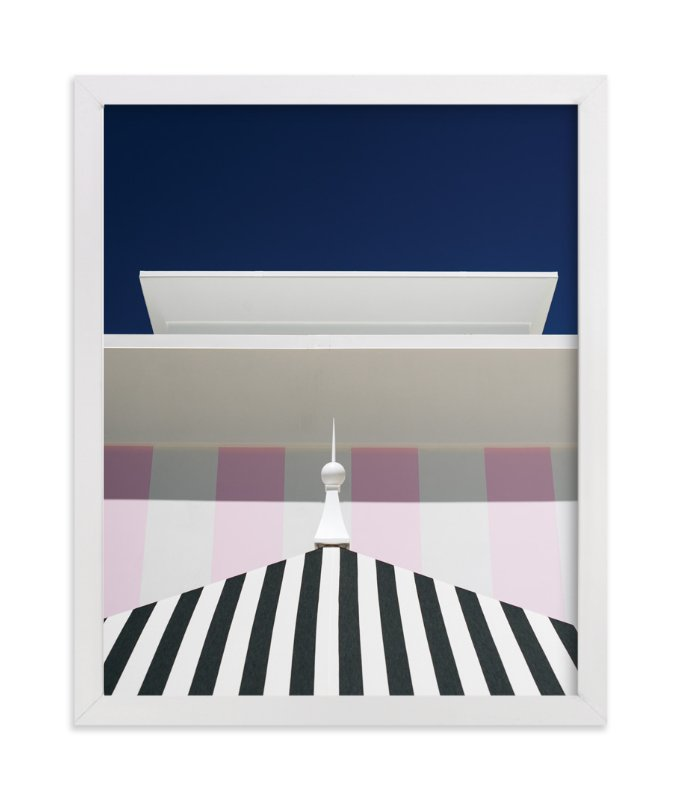 """""""Blocks I"""" - Art Print by Jennifer Little in beautiful frame options and a variety of sizes."""