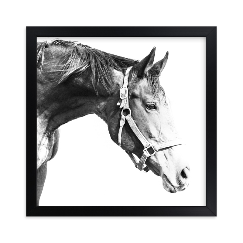 """""""Quiet Gaze"""" - Art Print by Karen Kaul in beautiful frame options and a variety of sizes."""