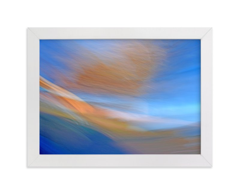 """""""Abstractscape31"""" - Art Print by NSMARK in beautiful frame options and a variety of sizes."""