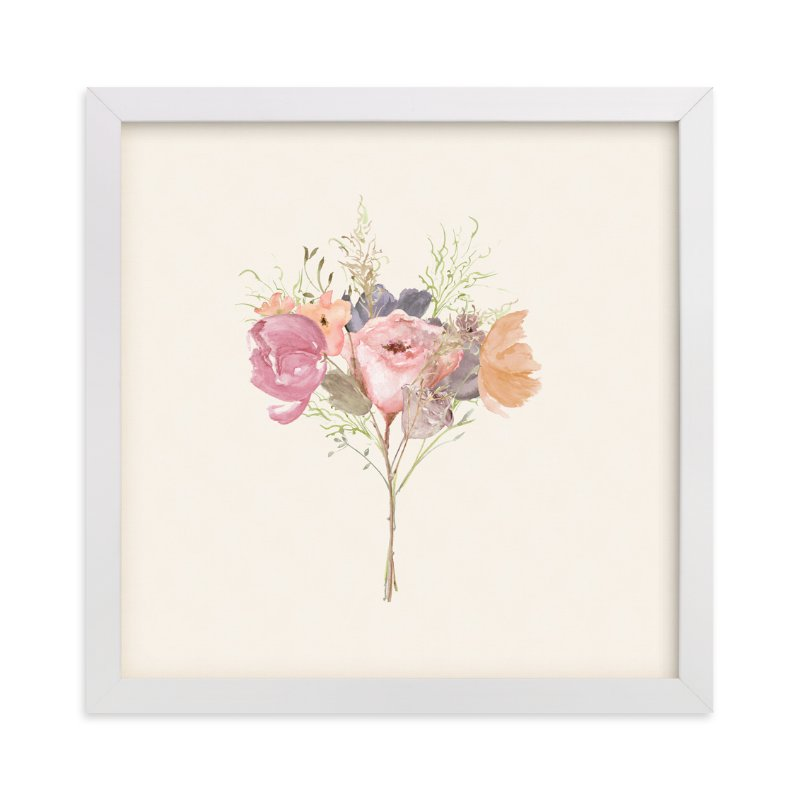 """French Bouquet"" - Art Print by Amy Moen in beautiful frame options and a variety of sizes."