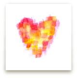 Pixelated Heart by Aimee Siberon