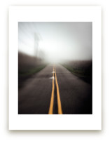 Foggy Road by Mary Ann Glynn-Tusa