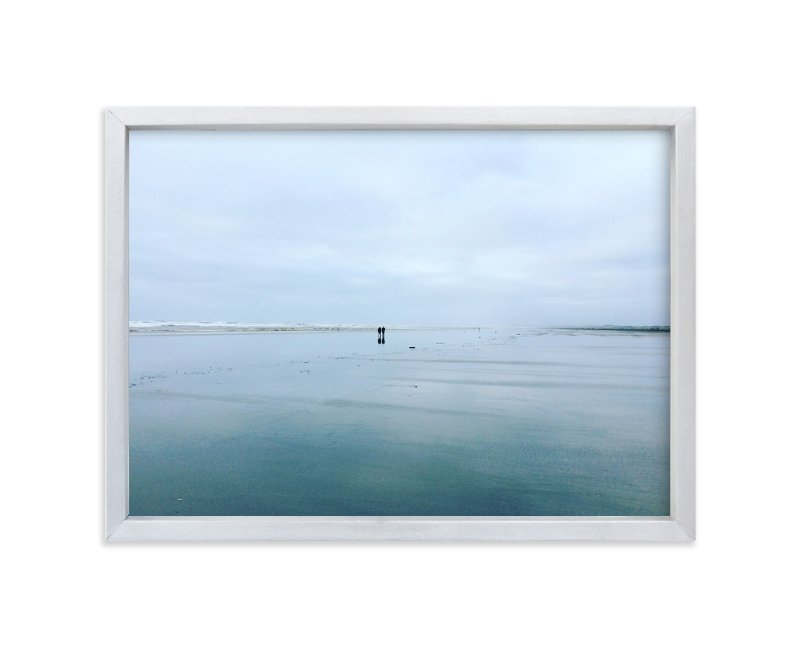 """la push"" - Art Print by aeryn donnelly design in beautiful frame options and a variety of sizes."