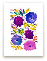 hand painted flowers_3J by aticnomar