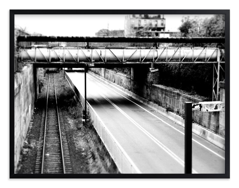 """""""WEST THIRD"""" - Art Print by Joe Barka in beautiful frame options and a variety of sizes."""