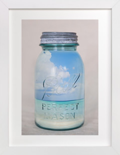 Canned Beach Art Print