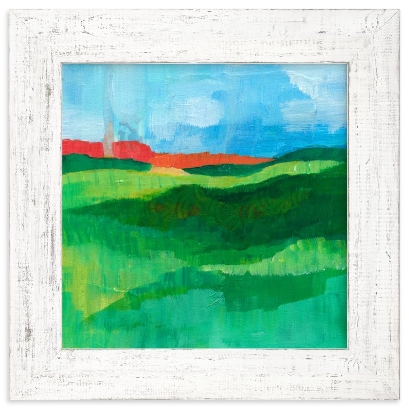 """Landscape Study"" - Art Print by Laura Bolter Design in beautiful frame options and a variety of sizes."